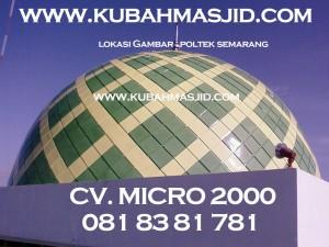 Kubah Masjid Poltek Semarang