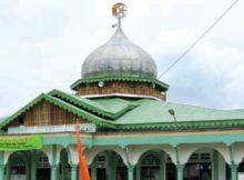 Kubah Masjid Agung Singkil