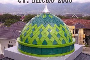 Kubah Masjid Al Bayan Palu