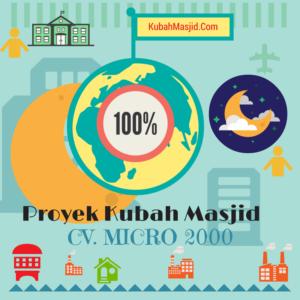Proyek Kubah Masjid
