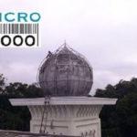 Rangka kubah Masjid Agung Jami' Malang Jl. Merdeka Barat No. 03, Alun-alun Malang