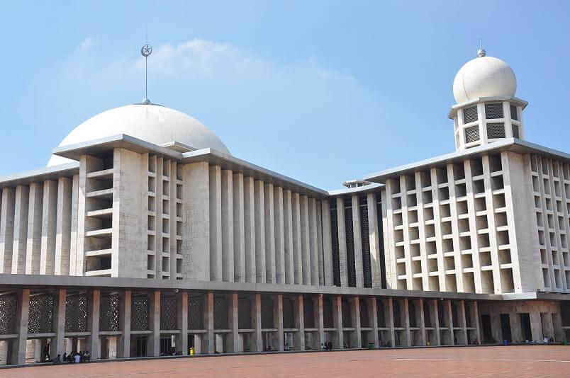Kubah Masjid Istiqlal 45 Meter