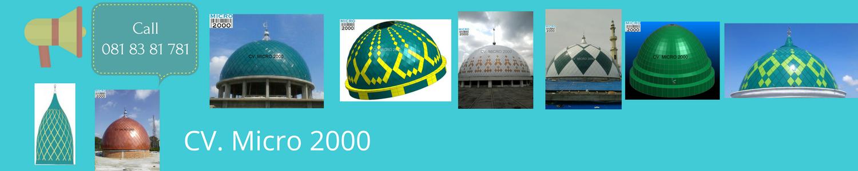 banyak pilihan kubah masjid dari KubahMasjid.com
