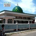kubah Masjid Blega yang terletak di desa Prebun kec. Sresek, Blega Madura. kubah masjid yang berdiameter sekitar 8,5 M, dan tingi 5,8 M
