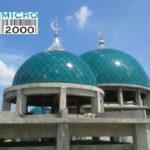 kubah Masjid Muhammad Jl. Imam Bonjol No 335, , Denpasar, Bali yang dikerjakan oleh tenaga profesional CV. MICRO 2000