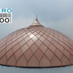kubah anak Masjid Jaya Konstruksi Jl. padamaran pos 3 Tanjung Priok - JKT (sebelah Terminal Tj. Priok), salah satu proyek yang dikerjakan oleh CV. MICRO 2000