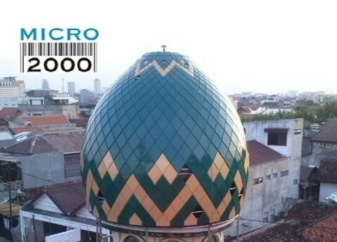 kubah anak Masjid Rangkah Jl. Rangkah Buntu Gg. II No.25 SBY (dekat makam Rangkah)