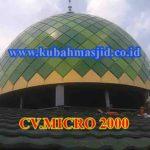 Kubah Masjid Jami' Al-Muawanah J.l Binawarga RT 8, RW 07, Srengseng Sawah Jakarta Selatan