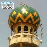 kubah menara Masjid Rangkah Jl. Rangkah Buntu Gg. II No.25 SBY (dekat makam Rangkah)