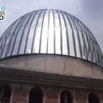 pemasangan galvalum pada kubah Mushola Darul Muttaqien yang terletak di Sembayat,Gresik