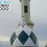 salah satu kubah anak dari 4 kubah anak Masjid Raya POSO - Sulawesi Tengah